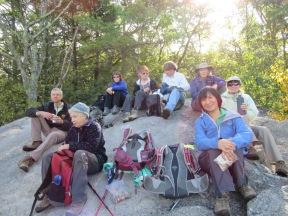 Lunch at Bonticou Crag