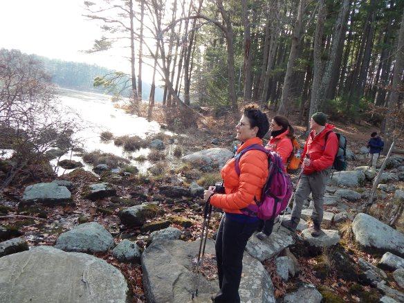Silvermine Lake hike 11-22-2014 1