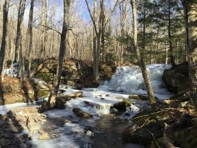 3. Frozen waterfalls on East Kill