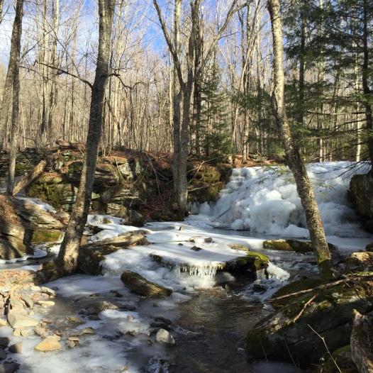 3. Frozen waterfalls on East Kill