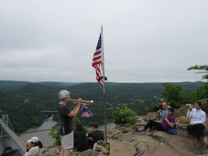 Memorial Day at Anthony's Nose
